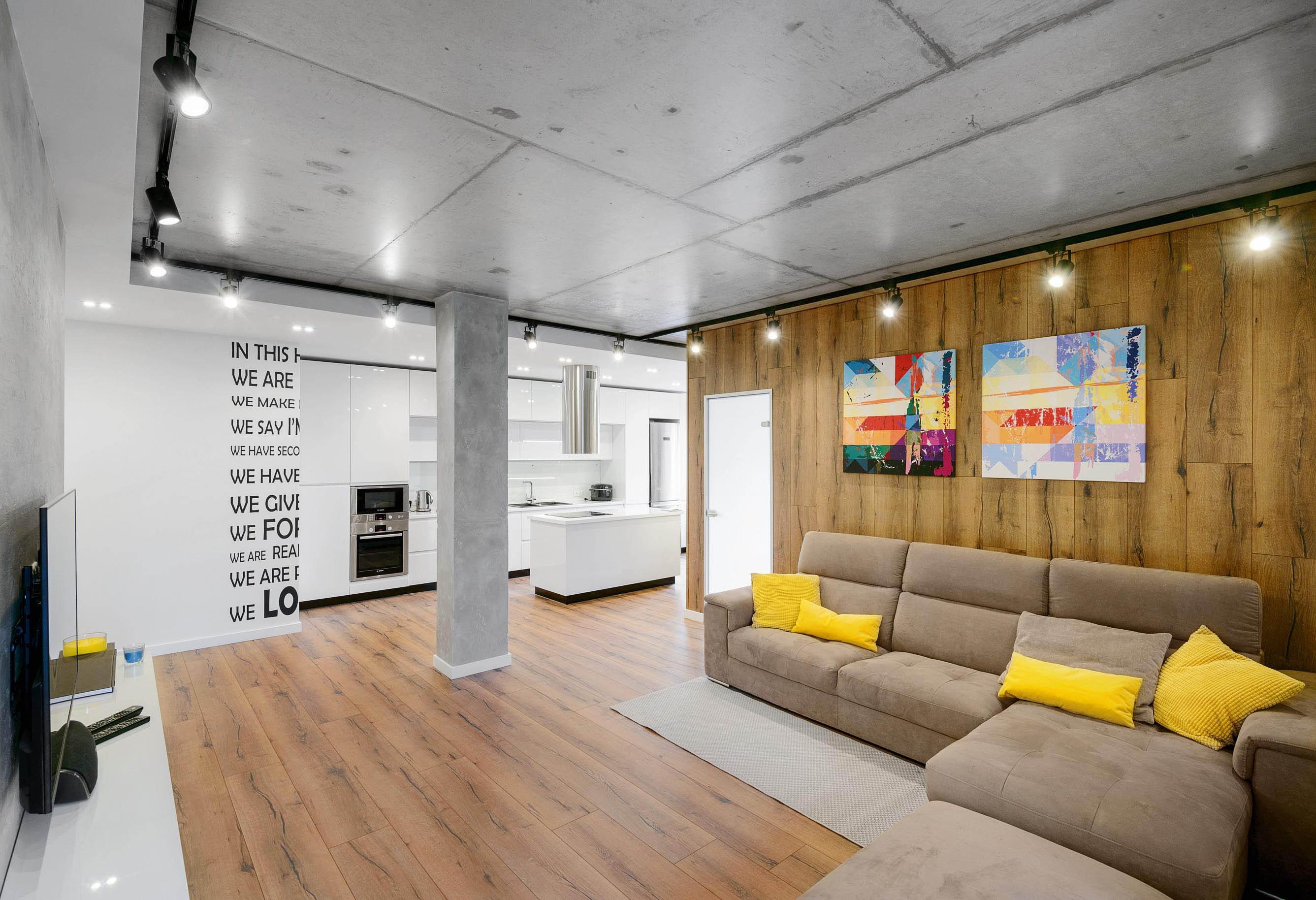 Потолок крашеный бетон бетон звук