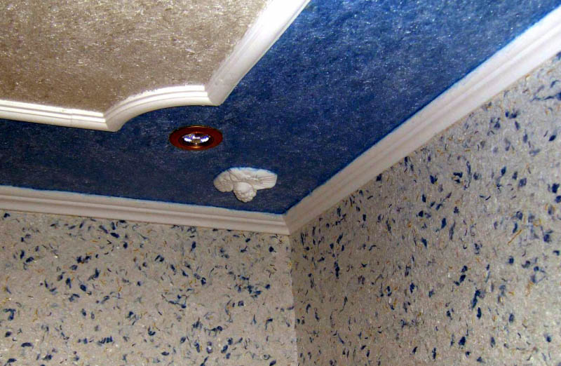 Чем отделать потолок в частном доме с печным отоплением