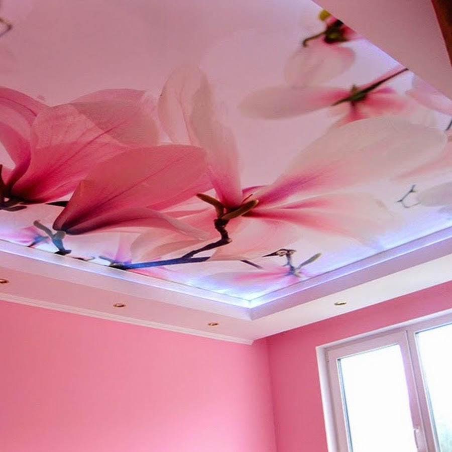 Картинки на фото печать для потолков