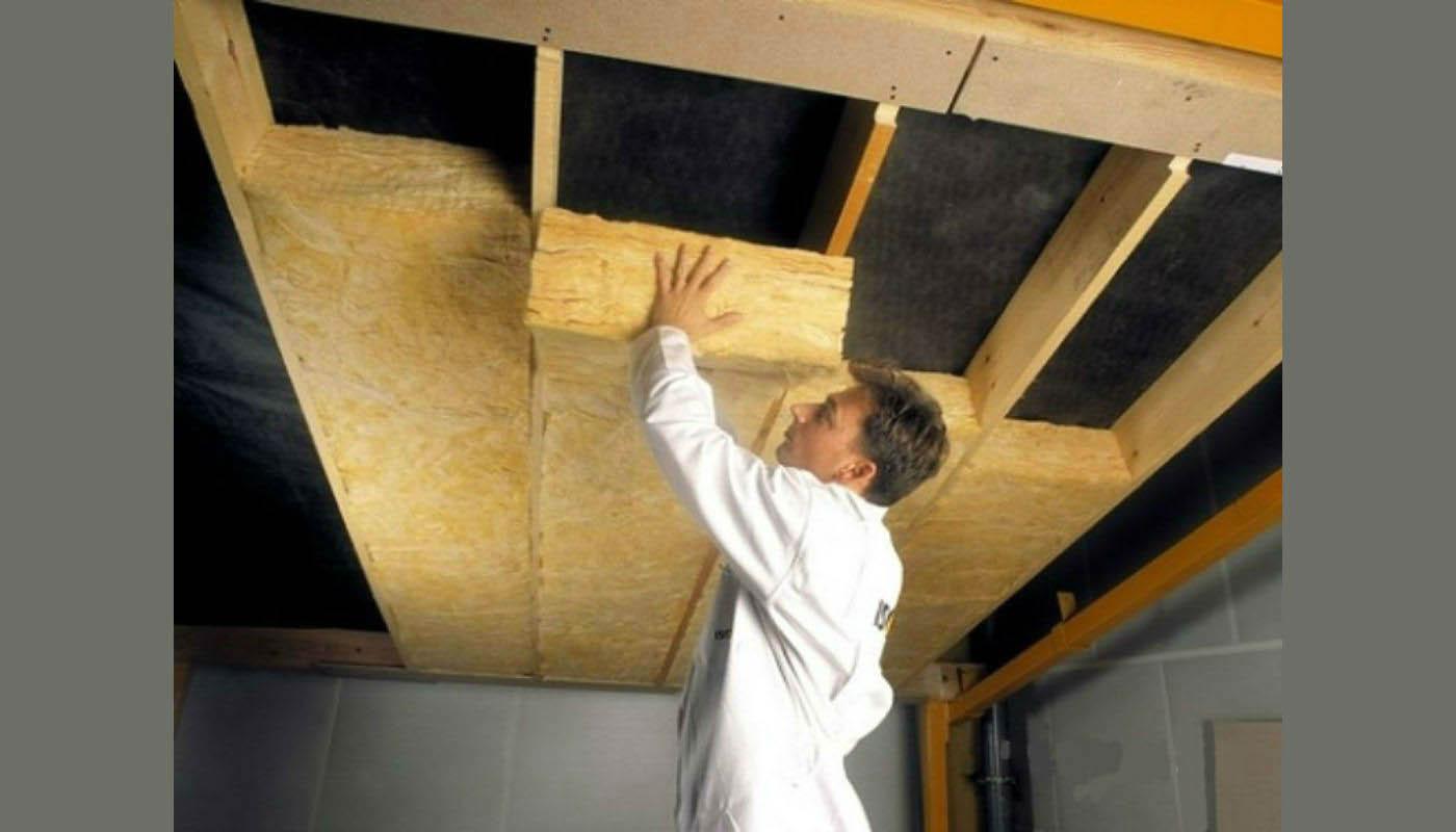 Как сделать шумоизоляцию потолка в частном доме