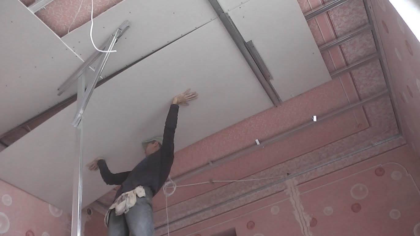 Kendi elinizle alçıpan tavan nasıl yapılır Çok zor değil