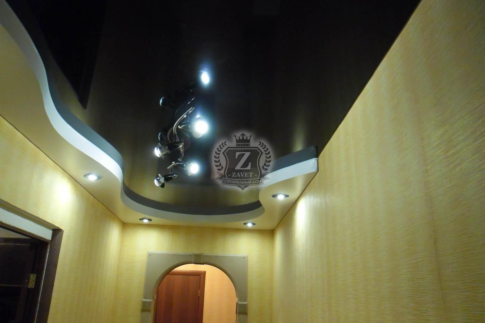 Потолки из гипсокартона фото для коридора своими руками