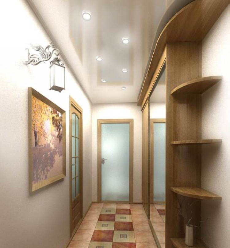 1510842197 svetilniki v prihozhey - Популярные схемы расположения светильников