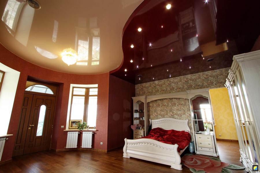 1511961885 aae - Двухцветные натяжные потолки в интерьере - тонкости подбора и лучшие примеры