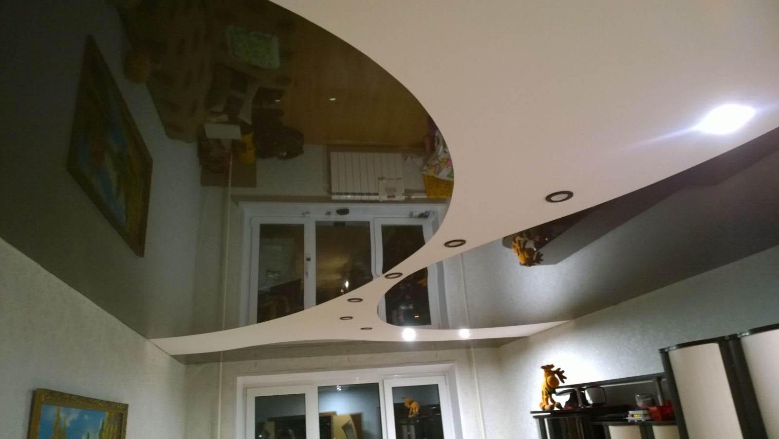 1511962134 56660 1464699656 - Двухцветные натяжные потолки в интерьере - тонкости подбора и лучшие примеры