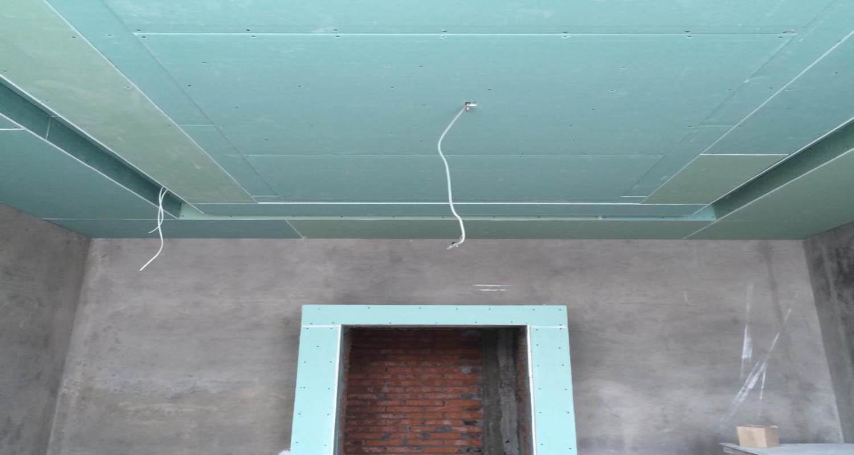 Потолок из гипрока своими руками пошагово