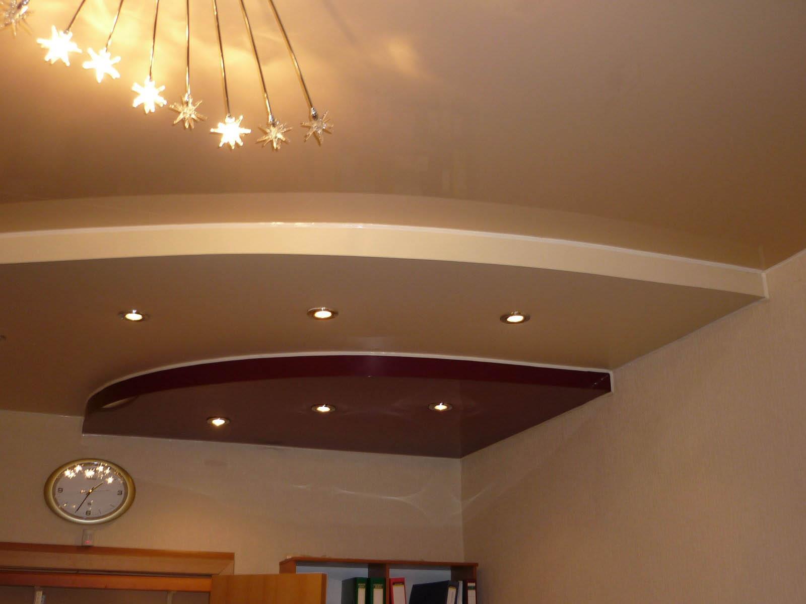 Как сделать двухуровневые потолки самому